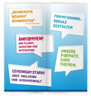 Politische Bildungsangebote, FES / Gestaltung: © Andrea Schmidt