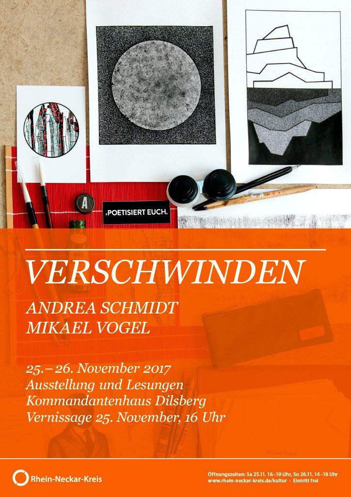 Einladung zur Ausstellung und Lesung