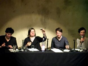auslandSPRACHEN: Caca Savic, Anna Glazova, Anna Hetzer, Andrea Schmidt