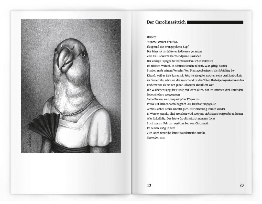 »Dodos auf der Flucht« / Buchgestaltung: © Andrea Schmidt